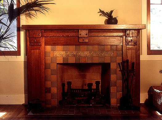 Perfect In Search Of A Craftsman Arts   Crafts Fireplace Mantel Medium