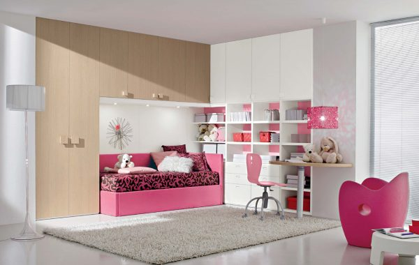 Perfect Interior Exterior Planideal Pink Bedroom Idea For Young Medium