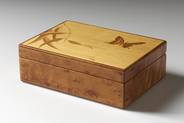 Perfect Marquetry Jewellery Boxdesign Tasmania Medium