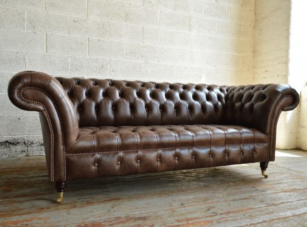 Perfect Montana Leather Chesterfield Sofaabode Sofas Medium