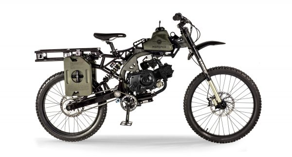Perfect Motoped Survival Bike Looks Like A Million Bucks Has 400 Medium