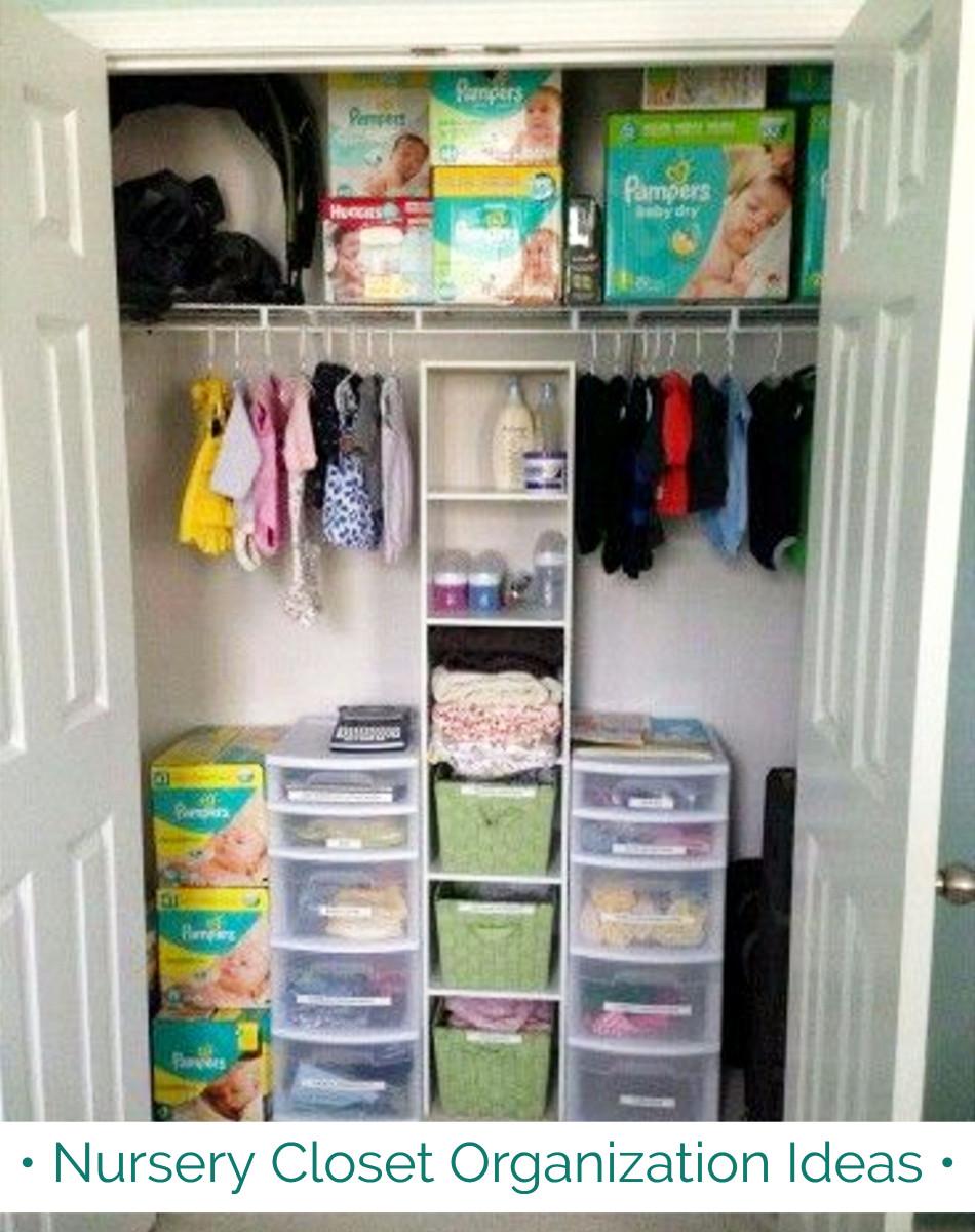 perfect nursery closet organization easy diy baby closet