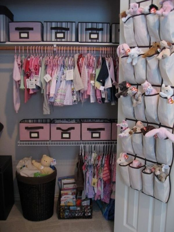 Perfect Organizing The Babys Closet Easy Ideas   Tips Medium
