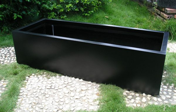 Perfect Planters Marvellous Black Planter Boxes Large Black Medium