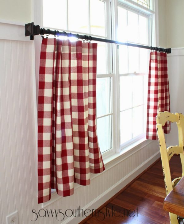 Perfect Savvy Southern Stylethe Mister Made Easy No Sew Curtains Medium