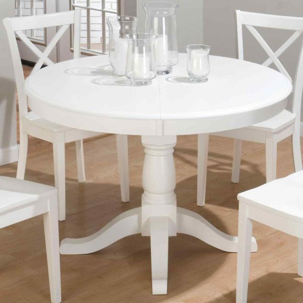 Perfect Small White Kitchen Tablesdeductourcom Medium