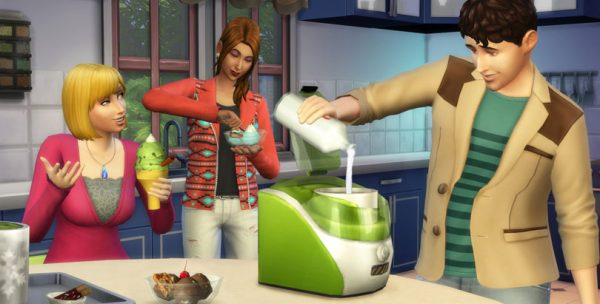 Perfect The Sims 4 Cool Kitchen Stuff Pack Sims Online Medium