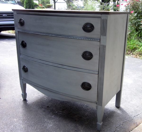 Perfect Uniquely Chic Furniture I Love Blue Gray Paint Medium