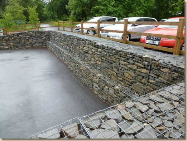Popular 17 Best Images About Gabion Walls On Gardens Medium