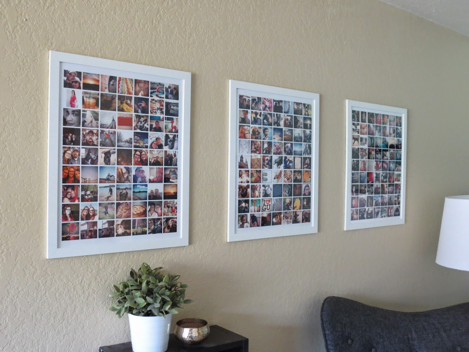 popular 32 photo collage diys for a more beautiful home