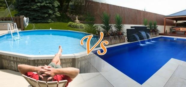 popular above ground vs inground plunge pools