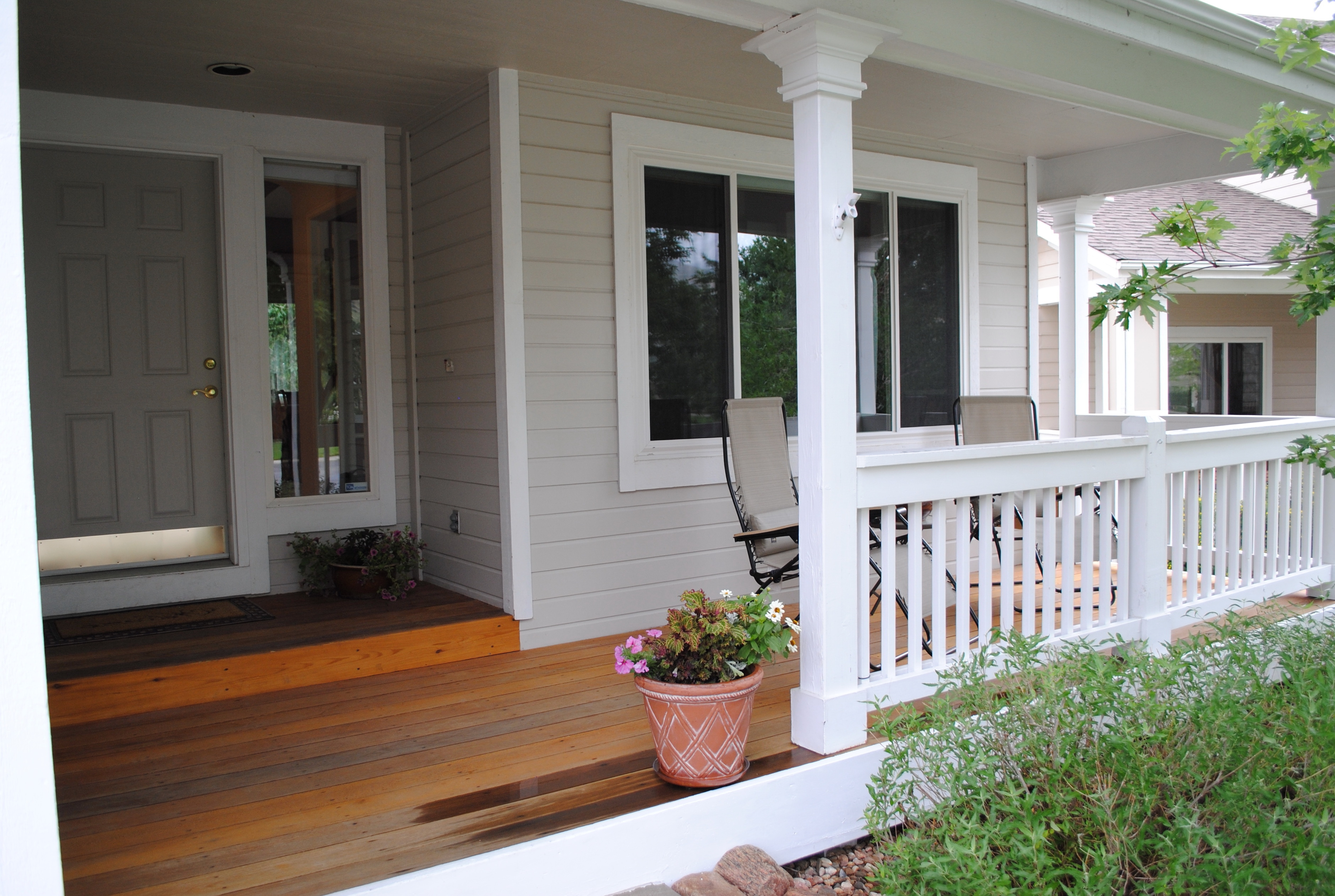 popular adding a front porch to a house