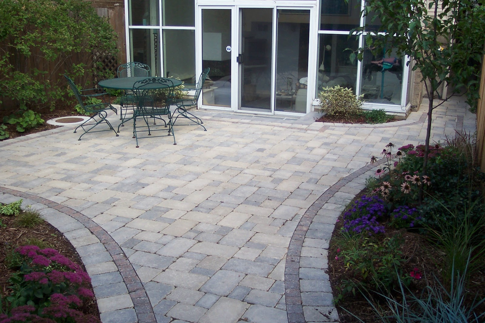 popular brick patios designsbrick phone picture