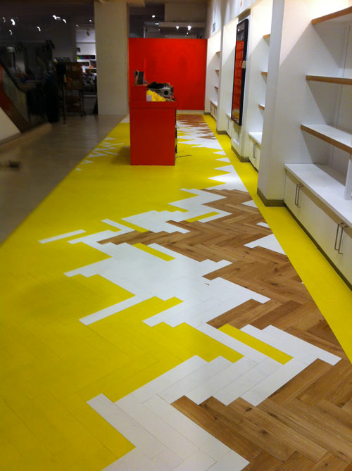 Popular Colored Parquet Collection By Mckay Flooring Design Milk Medium