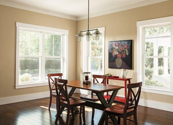 Popular Craftsman Baseboard Dining Room Traditional With Medium