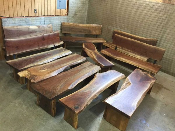 Popular Custom Handmade Wooden Benchesdumonds Custom Furniture Medium