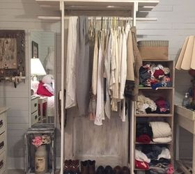 Popular Freestanding Closet Made With An Old Doorhometalk Medium
