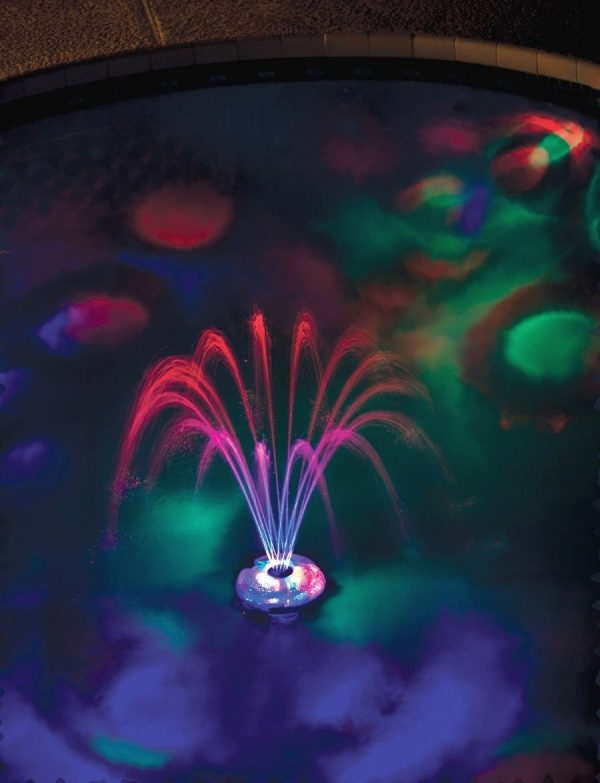 Popular Game Underwater Light Show   Fountain Rechargeable Medium
