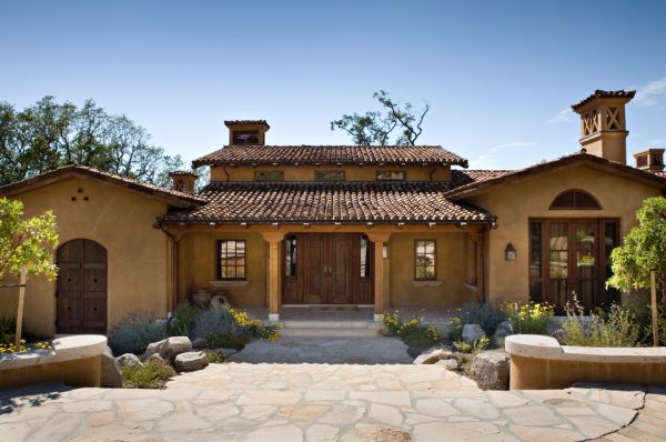 Popular Hacienda Style House Plans House Style Designwonderful Medium
