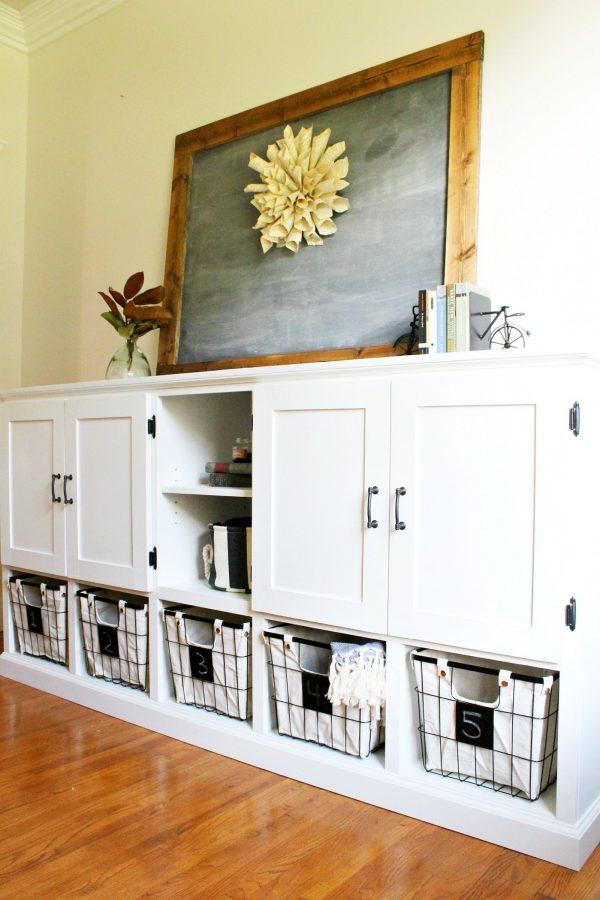 Popular How To Build A Combination Diy Storage Cabinet Medium