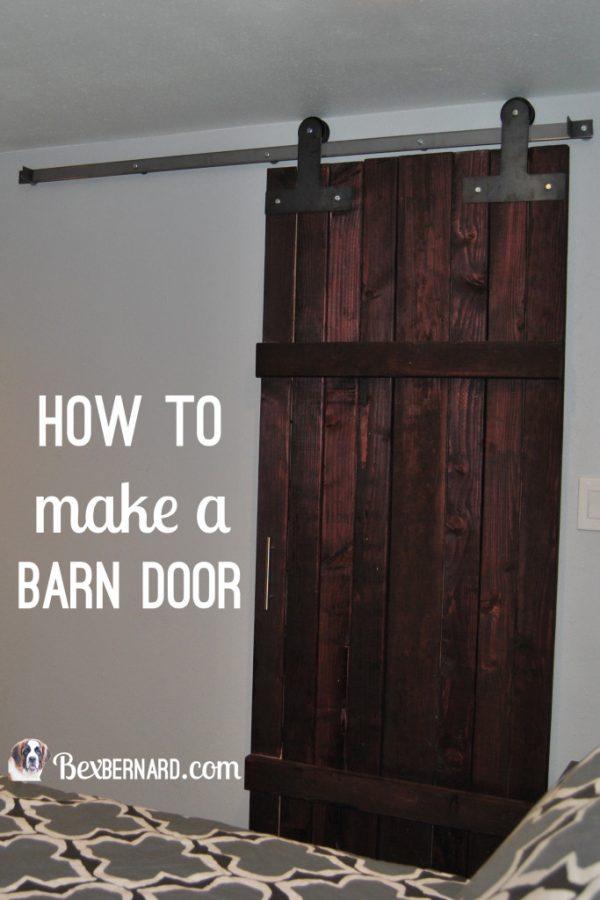 Popular How To Make A Barn Door Bexbernard Medium