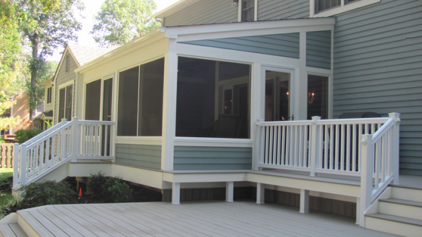 Popular Ideas For Amazing Screened Porch And Deck Designs Medium