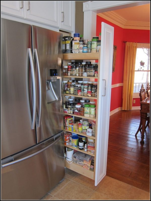 Popular Kitchen Cabinet Pull Out Spice Rack Cabinethome Medium