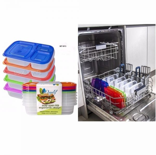 Popular Lunch Boxes For Kids Teens Adults School Food Storage Medium
