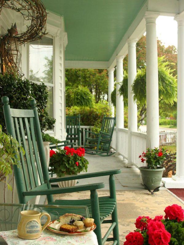 Popular Narrow Front Porch Furniture Ideas Medium