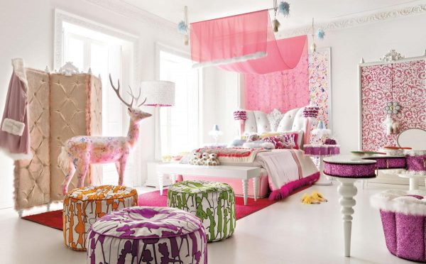 Popular Nice Decors Blog Archive Stylish Pink Teen Girls Room Medium