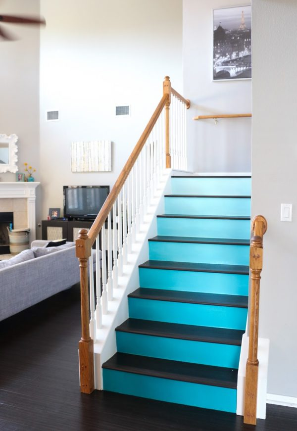 Popular Paint It Ombre Stairs A Kailo Chic Life Medium