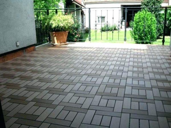 Popular Patio Tile Ideas  Octeesco Medium