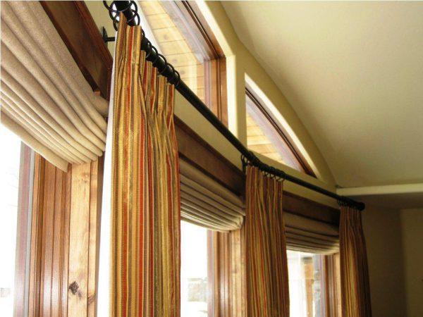 Popular Pleat French Door Curtain Rods Decorationsbest Choice Medium