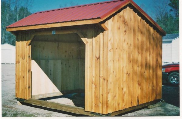 Popular Red Steel Paint Storage Shed Roof With Amish Barns Sheds Medium