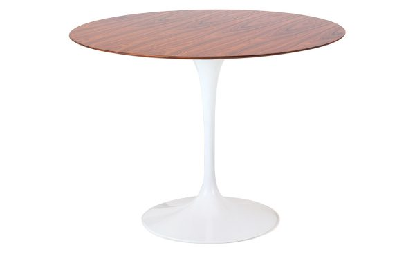 Popular Saarinen Dining Table Teak Or Rosewood Hivemoderncom