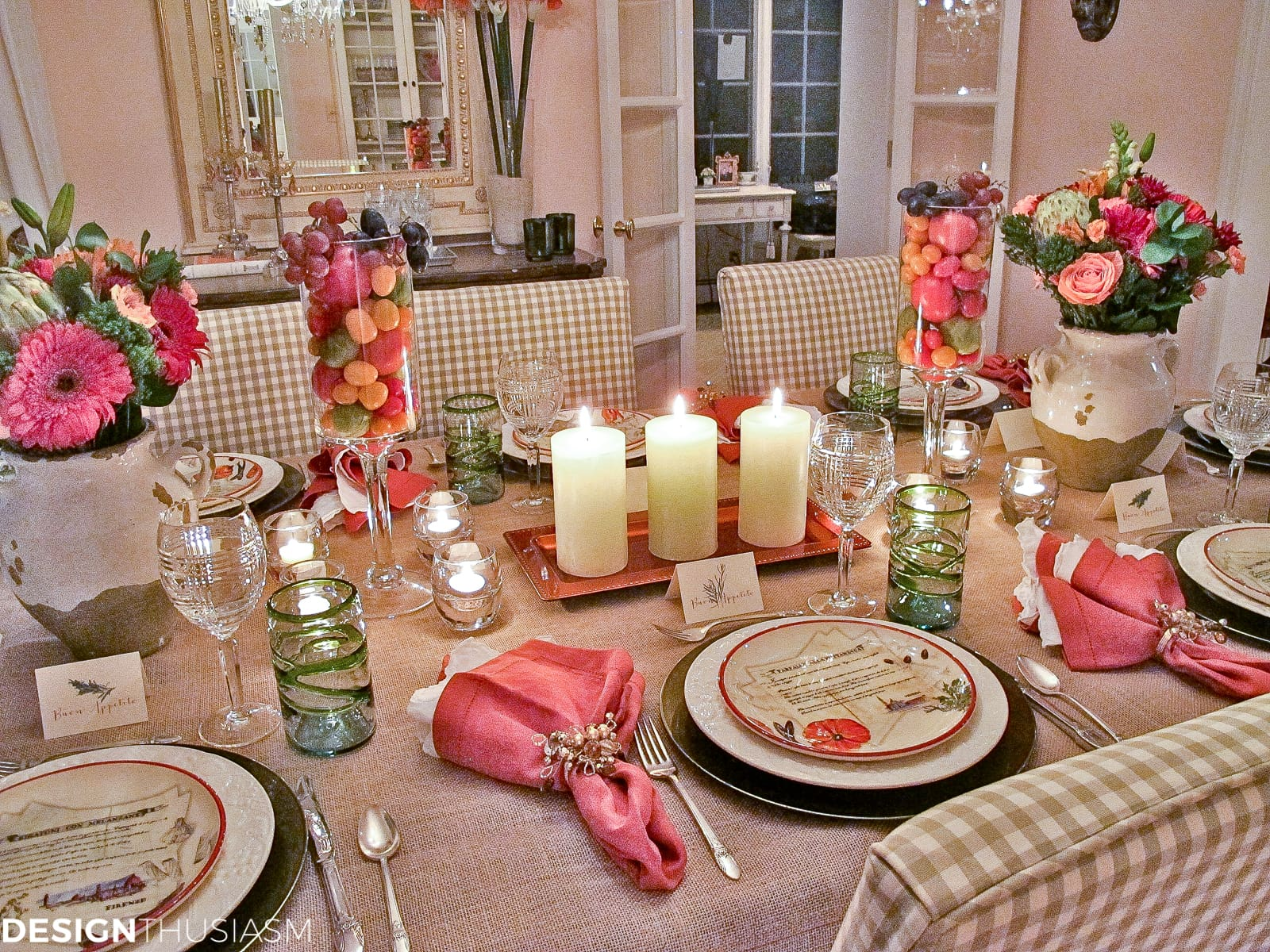 popular simple tuscan tablescape ideas for an italian themed party