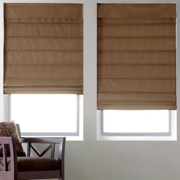 popular thermal lined roman shades 11 colorsebay medium