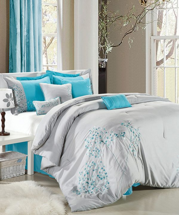 Popular Turquoise Bedroom Setmarceladickcom Medium