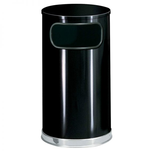 Rubbermaid FGSO1620GLBK 12gal Indoor Decorative Trash Can Medium