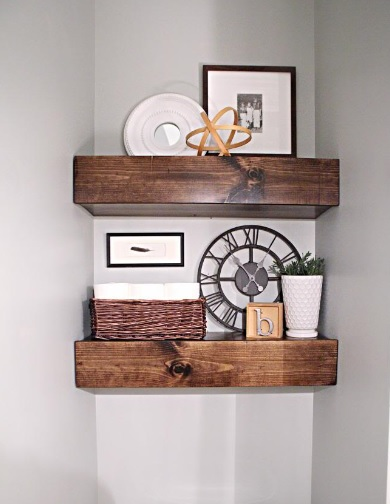 Search 12 Wonderful Diys For Classy Wooden Shelves 8 Thick Medium