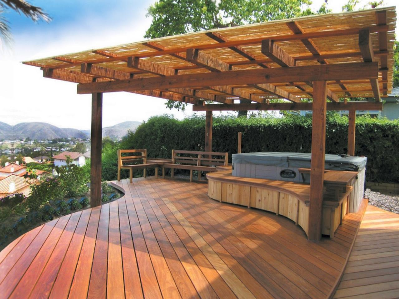 search 50 gorgeous decks and patios with hot tubs interior