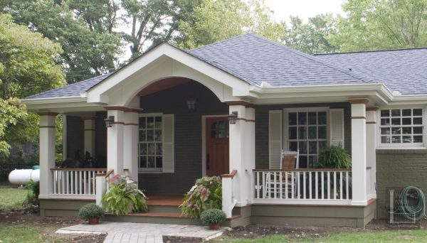 Search Adding A Covered Porch To A Ranch House Medium