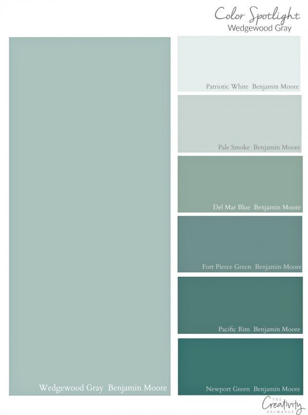 Search Benjamin Moore Wedgewood Gray Color Spotlight Medium