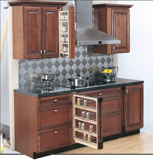 Search Cabinet   Shelvingcabinet Pull Out Spice Rack Medium
