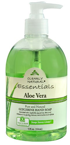 Search Clearly Natural Pure And Natural Glycerine Hand Soap Aloe Medium