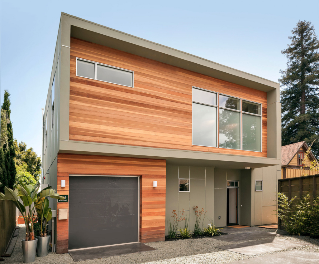 search contemporary house siding