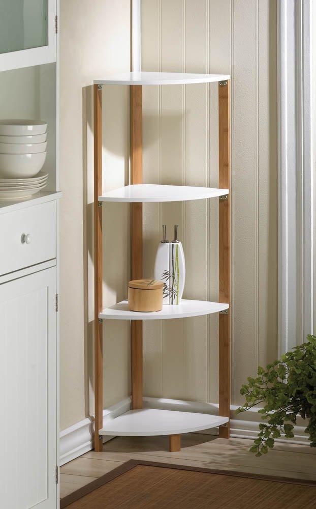 search corner shelf tall corner shelves bathroom storage unitebay