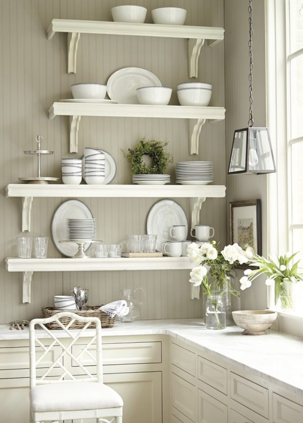 Search Corner White Wall Mounted Kitchen Shelves Over L Shaped Medium