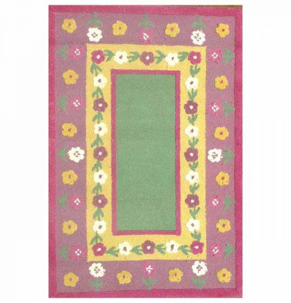 Search Handtufted Flower Kids Rug 3 X 5 Overstock Medium