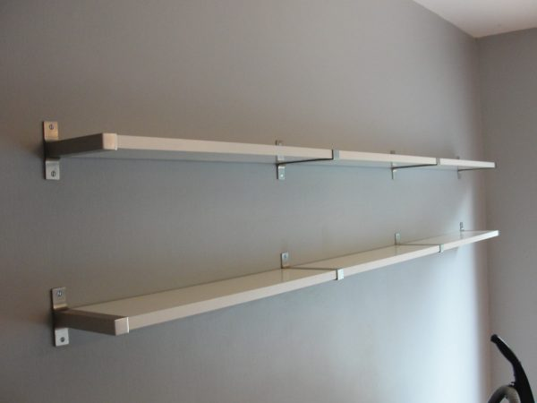 Search Hanging Shelves On Walls With Metal Studs Basement Wall Medium